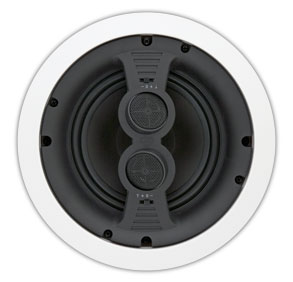 "A-615DS RBH 2-way Stereo (DVC) In-ceiling speaker. 6.5"" PolyGraphite woofer, dual 3/4"" pivoting silk dome tweeters. Multi mode capable. ************************* SPECIAL ORDER ITEM NO RETURNS OR SUBJECT TO RESTOCK FEE *************************"