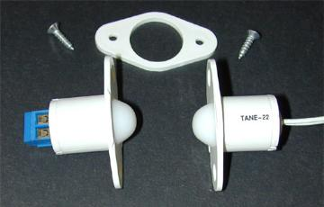 TANE-22TCWH TANE CONTACT BUTTON BALL REED WITH TERMINALS WHITE
