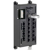LEV476TL-T12 LEVITON TELEPHONE INPUT DISTRIBUTION PANEL ************************* SPECIAL ORDER ITEM NO RETURNS OR SUBJECT TO RESTOCK FEE *************************