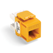 LEV61110-RY6 LEVITON JACK CAT 6 8P8C YELLOW ************************* SPECIAL ORDER ITEM NO RETURNS OR SUBJECT TO RESTOCK FEE *************************