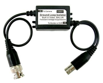 GB01 COAXIAL VIDEO GROUND LOOP ISOLATOR, BNC/M-BNC/M, 30CM CABLE ************************* SPECIAL ORDER ITEM NO RETURNS OR SUBJECT TO RESTOCK FEE *************************