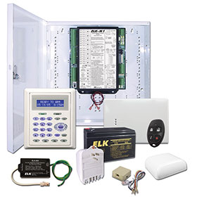 ELKM1GSYS4STW ELK Two-Way Wireless Ready M1 Gold Kit ************************* SPECIAL ORDER ITEM NO RETURNS OR SUBJECT TO RESTOCK FEE *************************