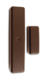 ELK-6020BR ELK TWO-WAY WIRELESS SLIMLINE DOOR/WINDOW SENSOR BROWN ************************* SPECIAL ORDER ITEM NO RETURNS OR SUBJECT TO RESTOCK FEE *************************