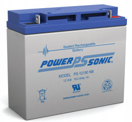 PS-12180F2 POWERSONIC 18.0 AMP HOUR