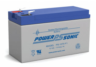 PS-1270F1 POWERSONIC 7.0 AMP HOUR