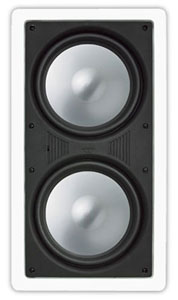 """MCS-88 RBH PASSIVE IN WALL SUBWOOFER - DUAL 8"""" SPEAKERS ************************* SPECIAL ORDER ITEM NO RETURNS OR SUBJECT TO RESTOCK FEE *************************"""