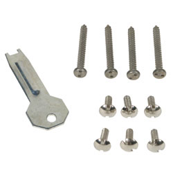 SUB-84 STI TAMPER PROOF SCREW KIT FOR SURFACE MOUNTED STROBE & HORN/STROBE COVERS ************************* SPECIAL ORDER ITEM NO RETURNS OR SUBJECT TO RESTOCK FEE *************************
