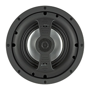"""VM-615 RBH Frameless look 2-way In-ceiling speaker. 6.5"""" aluminum woofer, 1"""" aluminum dome pivoting tweeter. Super microperf magetic grille. 10-120 watts (SOLD IN PAIRS) ************************* SPECIAL ORDER ITEM NO RETURNS OR SUBJECT TO RESTOCK FEE *************************"""