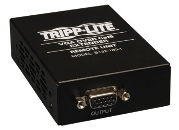 B132-100-1 TRIPPLITE VGA over Cat5 Receiver TAA / GSA ************************* SPECIAL ORDER ITEM NO RETURNS OR SUBJECT TO RESTOCK FEE *************************