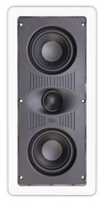 """A-414 RBH 2-way In-wall LCR/center channel speaker. Dual 4"""" PolyGraphite woofers, 1"""" pivoting silk dome. 10-100 watts ************************* SPECIAL ORDER ITEM NO RETURNS OR SUBJECT TO RESTOCK FEE *************************"""