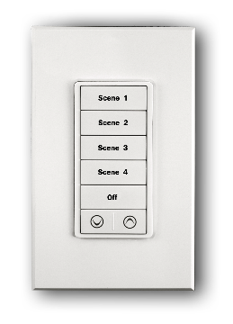 KPCW-7-W PCS PulseWorx - Keypad Controller, Wall Mount, 7-Button, White backlights, White ************************* SPECIAL ORDER ITEM NO RETURNS OR SUBJECT TO RESTOCK FEE *************************