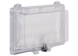 STI-6560 STI WIDEBODY KEYPAD PROTECTOR CLEAR WITH LOCK ************************* SPECIAL ORDER ITEM NO RETURNS OR SUBJECT TO RESTOCK FEE *************************