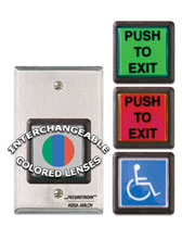 EEB2 SECURITRON EMERGENCY EXIT BUTTON W/ 30 SECOND TIMER ************************* SPECIAL ORDER ITEM NO RETURNS OR SUBJECT TO RESTOCK FEE *************************