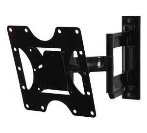 "PA740 PEERLESS PARAMOUNT ARTICULATING ARM WALL MOUNT FOR 22""-40"" LCD SCREENS GLOSS BLACK"