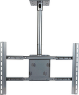 """VMPPDS-LC VMP CEILING MOUNT 42-63"""" FLAT PANEL SILVER ************************* SPECIAL ORDER ITEM NO RETURNS OR SUBJECT TO RESTOCK FEE *************************"""