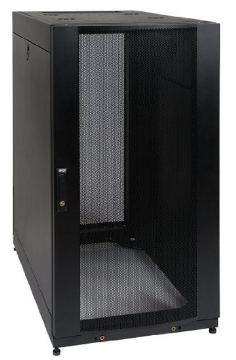 SR25UB TRIPPLITE 25U RACK ENCLOSURE SERVER CABINET S/ DOORS AND SIDES 3000LB CAPACITY ************************* SPECIAL ORDER ITEM NO RETURNS OR SUBJECT TO RESTOCK FEE *************************