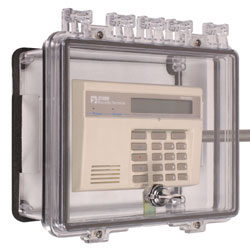 STI-7501D STI POLYCARBONATE ENCLOSURE WITH OPEN BACKBOX FOR EXPOSED CONDUIT FOR SURFACE MOUNT APPLICATIONS - THUMB LOCK ************************* SPECIAL ORDER ITEM NO RETURNS OR SUBJECT TO RESTOCK FEE *************************