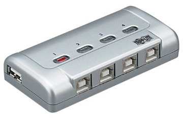 U215-004-R TRIPPLITE 4 Port USB 2.0 Peripheral Sharing Switch. Connects up to four PCs to one printer. ************************* SPECIAL ORDER ITEM NO RETURNS OR SUBJECT TO RESTOCK FEE *************************