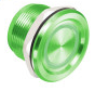 PX-33M ROSSLARE Piezoelectric push button with LED ring indicator and two LED control inputs - Green ************************* SPECIAL ORDER ITEM NO RETURNS OR SUBJECT TO RESTOCK FEE *************************