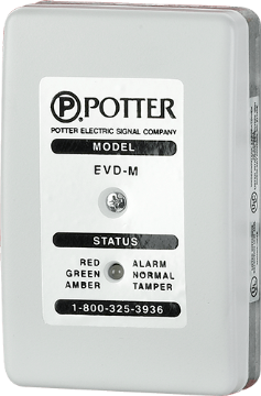 EVD-2 POTTER VIBRATION SAFE DETECTOR SYSTEM ************************* SPECIAL ORDER ITEM NO RETURNS OR SUBJECT TO RESTOCK FEE *************************