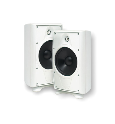 "NV-AP16OW NUVO 6 1/2"" OUTDOOR LOUDSPEAKER WHITE (PAIR) ************************* SPECIAL ORDER ITEM NO RETURNS OR SUBJECT TO RESTOCK FEE *************************"
