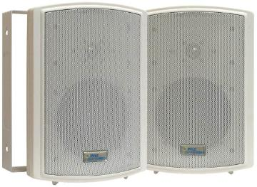 """PDWR6T PYLE 6.5"""" OUTDOOR SPEAKER WITH 70 VOLT TRANSFORMER - WHITE - PAIR ************************* SPECIAL ORDER ITEM NO RETURNS OR SUBJECT TO RESTOCK FEE *************************"""