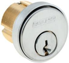 20-001C-114-626 SCHLAGE CONVENTIONAL MORTISE CYL 626 MORTISE CYLINDER COMPRESSION RING AND SPRING ROSE TRIM SATIN CHROME ************************* SPECIAL ORDER ITEM NO RETURNS OR SUBJECT TO RESTOCK FEE *************************