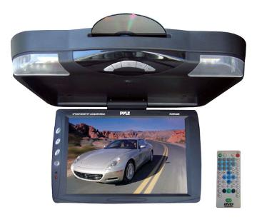 """PLRD143IF PYLE ROOF MOUNT MONITOR DVD PLAYER 14"""" ************************* SPECIAL ORDER ITEM NO RETURNS OR SUBJECT TO RESTOCK FEE *************************"""