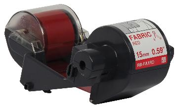 BRT-RBFA1RD BROTHER 300M x 15MM RED FABRIC INK RIBBON FOR THE TAPECREATOR
