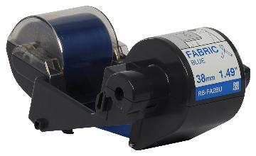 BRT-RBFA2BU BROTHER 300M x 38MM BLUE FABRIC INK RIBBON FOR THE TAPE CREATOR