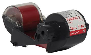 BRT-RBFA2RD BROTHER 300M x 38MM RED FABRIC INK RIBBON FOR THE TAPE CREATOR