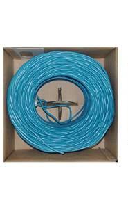 05623A4-B1-6 ALLSTAR CAT6E 550MHZ 1000' BOX - BLUE
