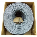 02S22B6-B1-8 ALLSTAR 22/6 STRANDED SHIELDED PVC CMR, 1000' BOX GRAY