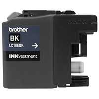 BRT-LC10EBK BROTHER ULTRA HIGH YIEL D BLACK INK CARTRIDGE FOR USE WITH MFCJ6925DW (2400 PG YIELD)