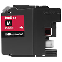 BRT-LC10EM BROTHER SUPER HIGH YIELD MAGENTA INK CARTRIDGE FOR USE WITH MFCJ6925DW (1200 PG YIELD)