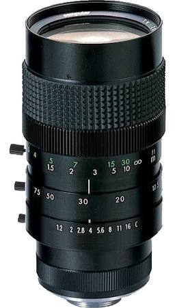 M6Z1212-3S CBC 12-5-75MM MANUAL ZOOM LENS C MOUNT ************************* SPECIAL ORDER ITEM NO RETURNS OR SUBJECT TO RESTOCK FEE *************************
