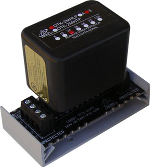 DTK-2MHLP5BWB DITEK 5V, 2 PAIR, HYBRID FIELD REPLACEABLE SUPPRESSION MODULE W/ HARDWIRED BASE