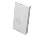 792012W HAYDEN VALVE PLASTER GUARD WHITE