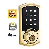 99160-001 KWIKSET - 916TRL TSCR ZW L03 UL - Kwikset 916 Touch Screen Deadbolt, Polished Brass