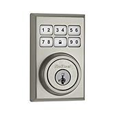 99100-011 KWIKSET SATIN NICKEL CONTEMPORARY STYLE DEADBOLT ************************** CLEARANCE ITEM- NO RETURNS *****ALL SALES FINAL****** **************************