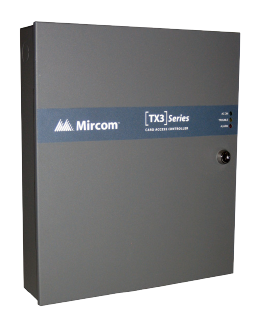 TX3-CX-2-A MIRCOM TWO DOOR CONTROLLER PANEL WITH IP CAPABILITY