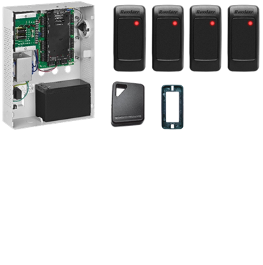 AC-K15UF ROSSLARE AC-425IP Kit with 4 AY-K12 Readers & 100 AT-ERK-26A-7TBO Key Fobs ************************* SPECIAL ORDER ITEM NO RETURNS OR SUBJECT TO RESTOCK FEE *************************