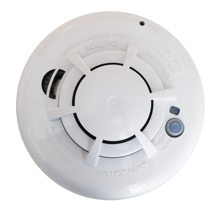 QS5110-840 QOLSYS IQ Smoke - Photo-electric wireless smoke detector with fixed heat detection