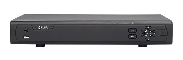 M3108E3 FLIR MPX HD recorder 8ch, 720p 30fps, 1080p 15fps, 960H 30fps, 3TB FLIR cloud VMS