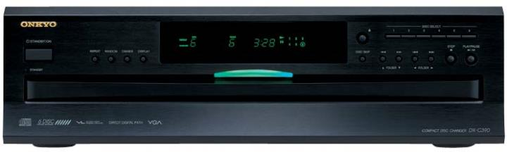 DX-C390 ONKYO SIX DISC CD RANDOM PLAY CAROUSEL CHANGER