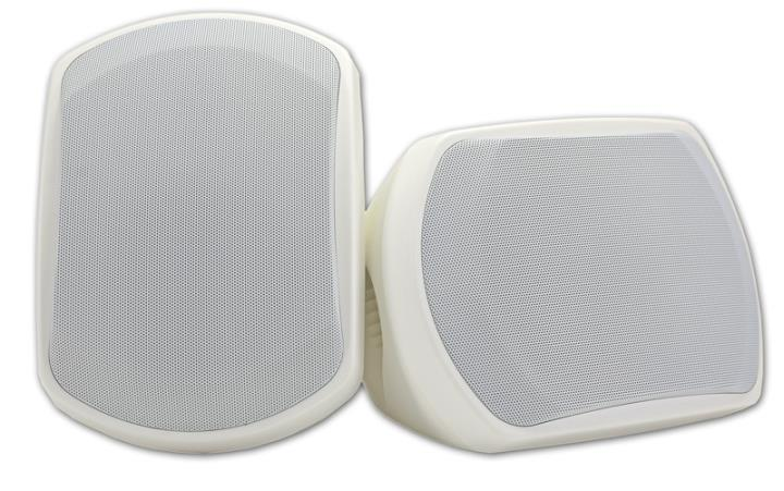D-P301W ONKYO WIDE RANGE 2-WAY OUTDOOR SPEAKERS WHITE