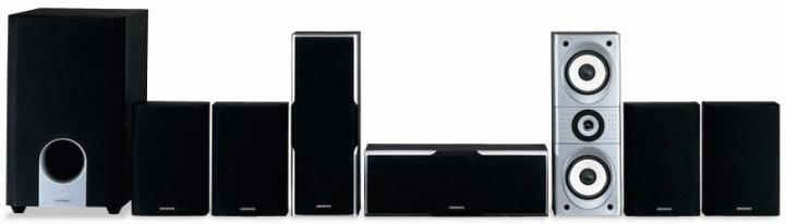 SKS-HT540 ONKYO 7.1 CHANNEL HOME THEATER SPEAKER SYSTEM