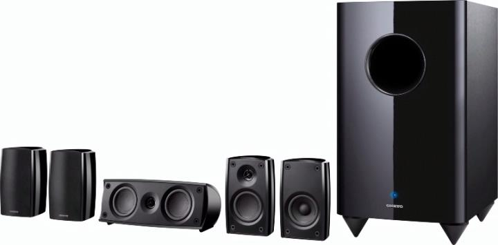 SKS-HT690 ONKYO 5.1 CHANNEL HOME THEATER SPEAKER SYSTEM