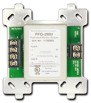 FWC-FSLC-EZM2 NAPCO Addressable SLC 2 zone conventional input module