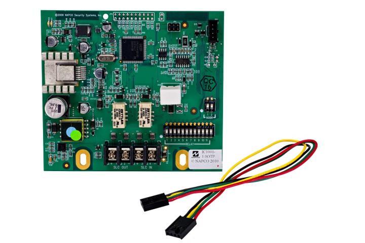 GEMC-BSLC NAPCO Addressable SLC Burg Module, supports up to 128 addressable SLC Burg devices. Connects to the GEMC control panel (2 max)